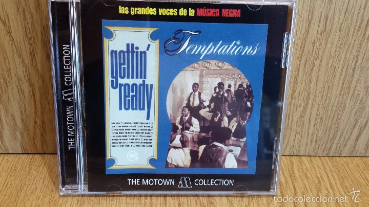 TEMPTATIONS. GETTIN' READY. CD / 14 TEMAS / THE MOTOWN COLLECTION./ LUJO. (Música - CD's Jazz, Blues, Soul y Gospel)