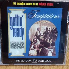 CDs de Música: TEMPTATIONS. GETTIN' READY. CD / 14 TEMAS / THE MOTOWN COLLECTION./ LUJO.. Lote 58205007