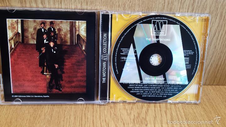 CDs de Música: TEMPTATIONS. GETTIN READY. CD / 14 TEMAS / THE MOTOWN COLLECTION./ LUJO. - Foto 2 - 58205007