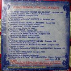 CDs de Música: HEROES DEL SILENCIO...EL NIÑO GUSANO....DENOMINACION DE ORIGEN.....ROCK ARAGÓN.NUEVO. Lote 58301784