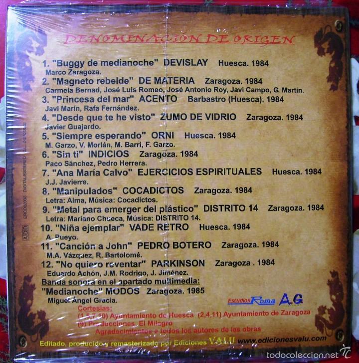 ENRIQUE BUNBURY(ZUMO DE VIDRIO)-COCADICTOS..DENOMINACION DE ORIGEN.ROCK ARAGÓN.NUEVO (Música - CD's Rock)