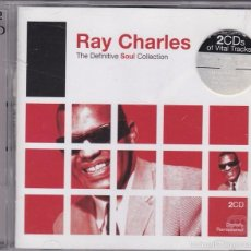 CDs de Música: RAY CHARLES - THE DEFINITIVE SOUL COLLECTION. Lote 58212508
