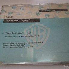 CDs de Música: R.E.M. (REM) - NEW TEST LEPER (CD SINGLE PROMO 1996). Lote 58230574