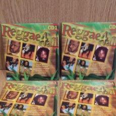 CDs de Música: REGGAE 4 ALL / VARIOS ARTISTAS - 5 CDS FUNDA CARTÓN EN CALIDAD LUJO. EN TOTAL 66 TEMAS / LEER.. Lote 58241962