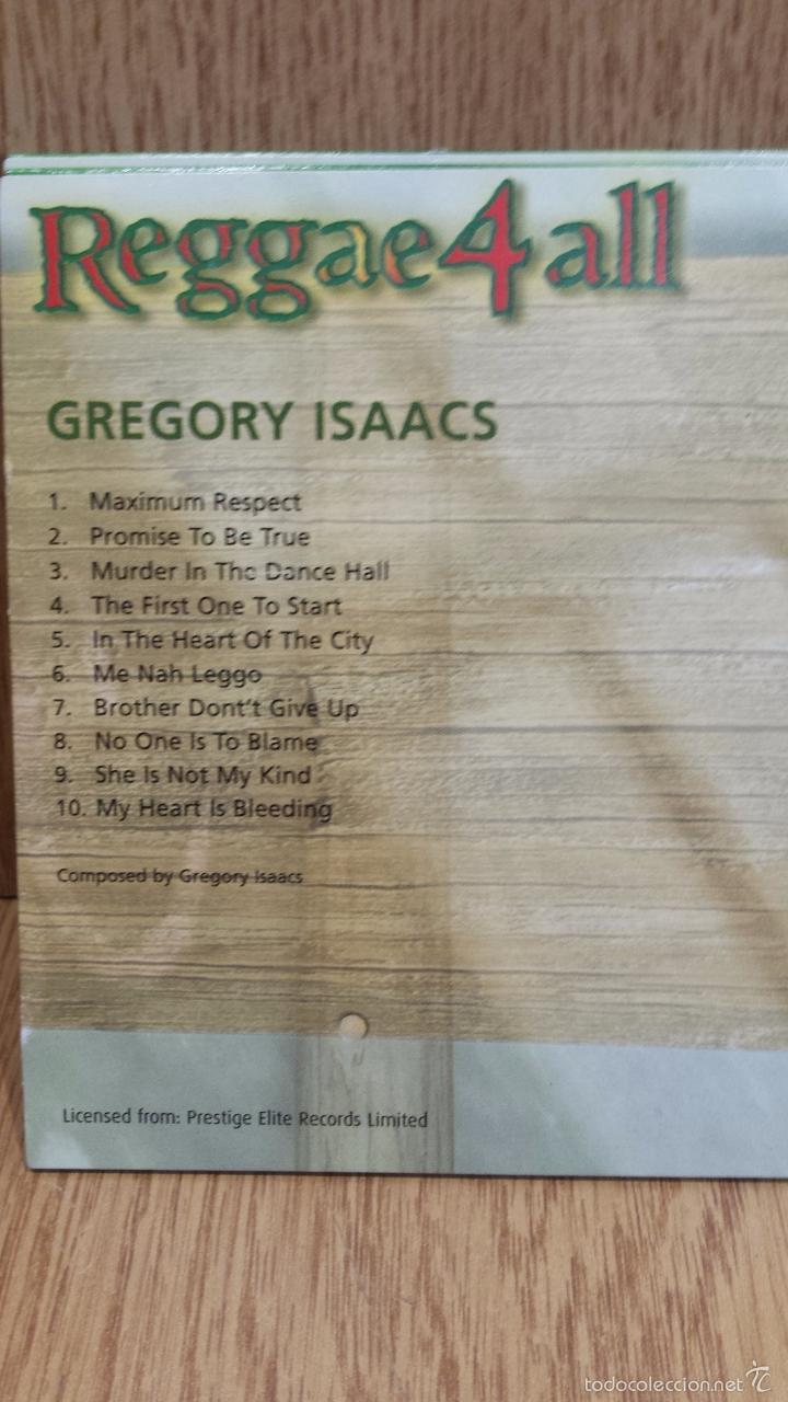 CDs de Música: REGGAE 4 ALL / VARIOS ARTISTAS - 5 CDS FUNDA CARTÓN EN CALIDAD LUJO. EN TOTAL 66 TEMAS / LEER. - Foto 5 - 58241962