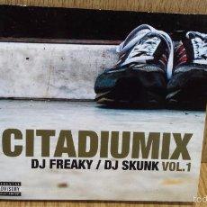 CDs de Música: DJ FREAKY / DJ SKUNK - CITADIUMIX. VOL. 1 / DIGIPACK-CD - 2002. 21 TEMAS / LUJO.. Lote 58244746