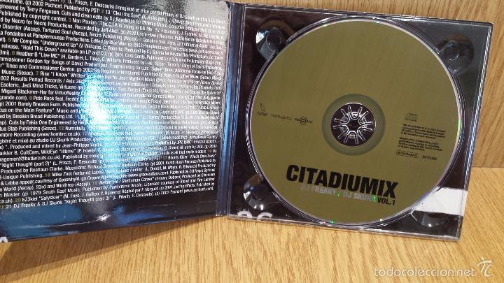 CDs de Música: DJ FREAKY / DJ SKUNK - CITADIUMIX. VOL. 1 / DIGIPACK-CD - 2002. 21 TEMAS / LUJO. - Foto 2 - 58244746