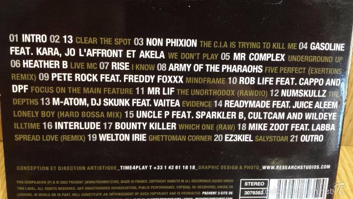 CDs de Música: DJ FREAKY / DJ SKUNK - CITADIUMIX. VOL. 1 / DIGIPACK-CD - 2002. 21 TEMAS / LUJO. - Foto 3 - 58244746