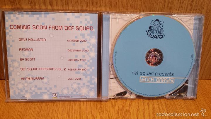 CDs de Música: DEF SQUAD PRESENTS ERICK ONASSIS. CD / SKG MUSIC - 2000. 16 TEMAS / LUJO. - Foto 2 - 58247117