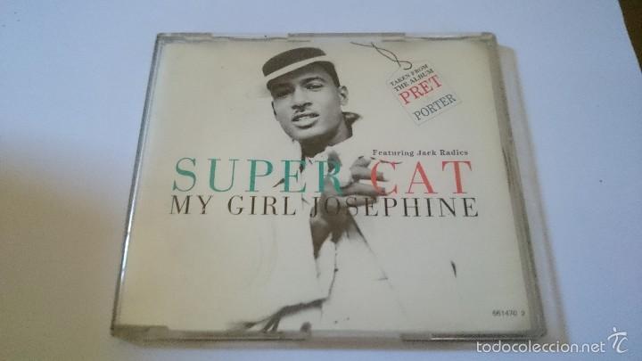 SUPER CAT FT. JACK RADICS - MY GIRL JOSEPHINE (6 VERSIONS) (CD MAXI 1995) (Música - CD's Hip hop)