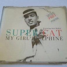 CDs de Música: SUPER CAT FT. JACK RADICS - MY GIRL JOSEPHINE (6 VERSIONS) (CD MAXI 1995). Lote 58248906