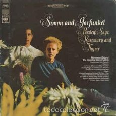 CDs de Música: SIMON AND GARFUNKEL. PARSLEY, SAGE, ROSEMARY AND THYME. Lote 58259118