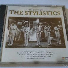 CDs de Música: THE STYLISTICS - THE BEST OF THE STYLISTICS (18 CANCIONES/TRACKS) (CD ALBUM 1996). Lote 58265547