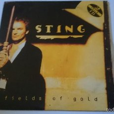 CDs de Música: STING (THE POLICE) - FIELDS OF GOLD / KING OF PAIN (LIVE) (CD SINGLE 1992). Lote 58269827