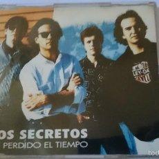 CDs de Música: LOS SECRETOS - HE PERDIDO EL TIEMPO (CD SINGLE 1993). Lote 58269926