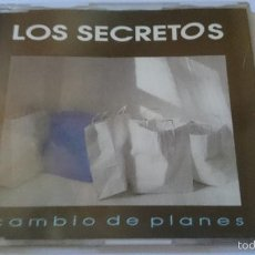 CDs de Música: LOS SECRETOS - CAMBIO DE PLANES (CD SINGLE 1993). Lote 58269962