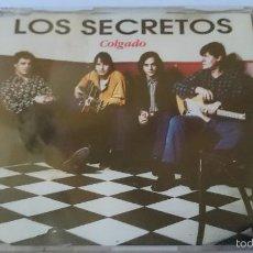 CDs de Música: LOS SECRETOS - COLGADO (CD SINGLE 1993). Lote 58269992