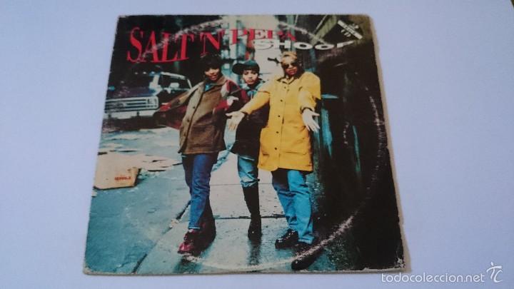 SALT 'N' PEPA - SHOOP (DANNY D'S RADIO EDIT) / LET'S TALK ABOUT AIDS (CD SINGLE1993) (Música - CD's Hip hop)