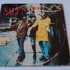 CDs de Música: SALT 'N' PEPA - SHOOP (DANNY D'S RADIO EDIT) / LET'S TALK ABOUT AIDS (CD SINGLE1993). Lote 58272326