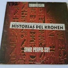 CDs de Música: TERRORVISION - SOME PEOPLE SAY (BSO 'HISTORIAS DEL KRONEN') / MR BUSKERMAN (CD SINGLE PROMO 1995). Lote 58286513