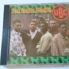 CDs de Música: THE UBC - 2 ALL SERIOUS THINKERS (16 CANCIONES/TRACKS) (CD ALBUM 1990). Lote 58297829