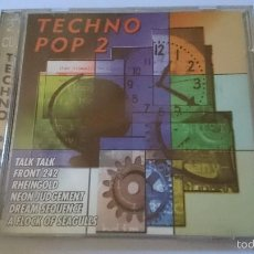 CDs de Música: VARIOS - TECHNO POP 2 (22 CANCIONES/TRACKS 80'S GROUPS) (DOUBLE CD ALBUM 1998). Lote 58300190