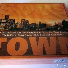 CDs de Música: SOUL TOWN - 3 CD 60 TEMAS - CLASSICS CITY - TIME MUSIC 1998 INTERNACIONAL LIMITED - NUEVO PRECINTADO. Lote 58324248