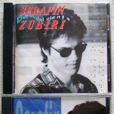 CDs de Música: SERAFIN ZUBIRI...LOTE..DETRAS DEL VIENTO + UN HOMBRE NUEVO. Lote 58324309