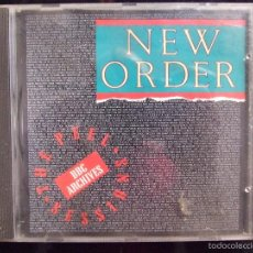 CDs de Música: NEW ORDER - THE PEEL SESSIONS - BBC ARCHIVES - HOLLAND 1989. Lote 58326133