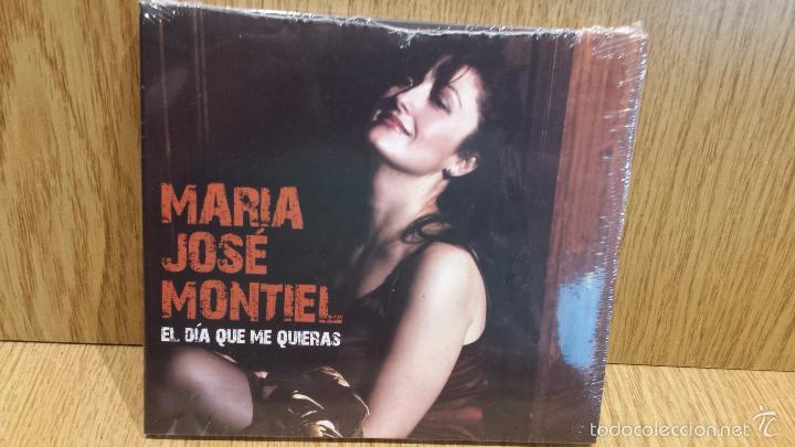 MARÍA JOSÉ MONTIEL. EL DÍA QUE ME QUIERAS. DIGIPACK-CD / 17 TEMAS / PRECINTADO. (Música - CD's Melódica )