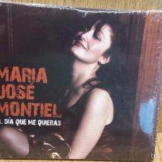 CDs de Música: MARÍA JOSÉ MONTIEL. EL DÍA QUE ME QUIERAS. DIGIPACK-CD / 17 TEMAS / PRECINTADO.. Lote 58328698