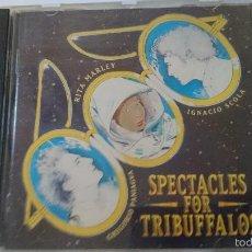 CDs de Música: RITA MARLEY & GREGORIO PANIAGUA & IGNACIO SCOLA - SPECTACLES FOR TRIBUFFALOS (CD ALBUM 1995). Lote 58337641