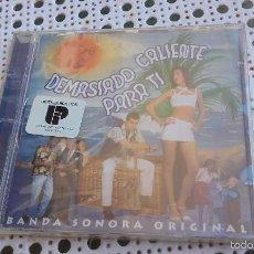 CDs de Música: CD NUEVO PRECINTADO DEMASIADO CALIENTE PARA TI BSO OST BANDA SONORA SOUNDTRACK CINE ESPAÑOL SALSA. Lote 58338474