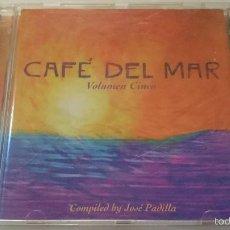 CDs de Música: VARIOS - CAFE DEL MAR VOLUMEN CINCO 5 (15 TEMAS/TRACKS) (CD ALBUM 1998). Lote 58344326