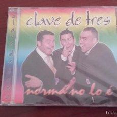 CDs de Música: CD NUEVO PRECINTADO CLAVE DE TRES NORMÁ NO LO É. Lote 58346521
