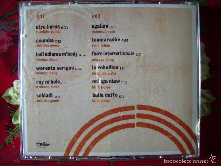 CDs de Música: ORCHESTRA BAOBAB.PIRATES CHOICE...DOBLE CD - Foto 2 - 58346677