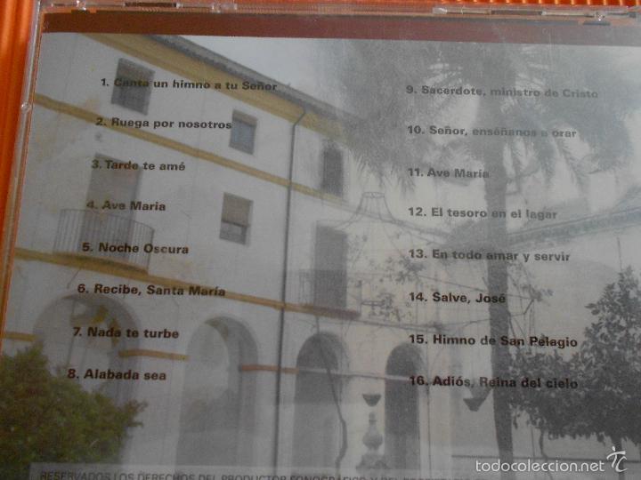 CDs de Música: OS DARE PASTORES (SEMINARIO CONCILIAR SAN PELAGIO - CORDOBA ) - CD - AVE MARIA - NOCHE OSCURA ... - Foto 4 - 58357130