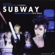 CDs de Música: SUBWAY / ERIC SERRA CD BSO. Lote 58384437