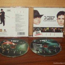 CDs de Musique: HECTOR & TITO - LA HISTORIA LIVE - CD DOBLE. Lote 191784770
