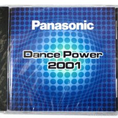 CDs de Música: PANASONIC DANCE POWER 2001, VALE MUSIC CD PROMOCIONAL, 8 CANCIONES, NUEVO SIN DESPRECINTAR. Lote 58411023