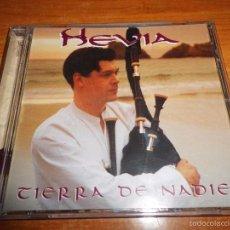 CDs de Música: HEVIA TIERRA DE NADIE CD ALBUM DEL AÑO 1998 CONTIENE 11 TEMAS NEW AGE GAITAS GALICIA. Lote 58411236