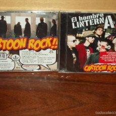 CDs de Música: EL HOMBRE LINTERNA - CARTOON ROCK - CD NUEVO PRECINTADO. Lote 245085820