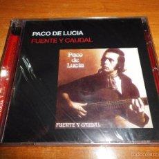 CDs de Música: PACO DE LUCIA FUENTE Y CAUDAL CD ALBUM PRECINTADO DEL AÑO 1973 - 2005 CONTIENE 8 TEMAS. Lote 58411907