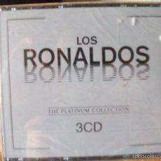 CDs de Música: TRIPLE CD DE LOS RONALDOS, THE PLATINUM COLLECTION, NUEVO. Lote 58412217