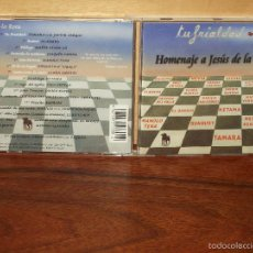 CDs de Música: HOMENAJE A JESUS DE LA ROSA - TU FRIALDAD - CD . Lote 58412241