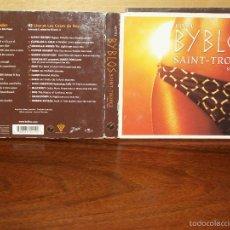 CDs de Música: HOTEL BYBLOS SAINT-TROPEZ SINCE 1967 - CD DOBLE DIGIPACK. Lote 58413230