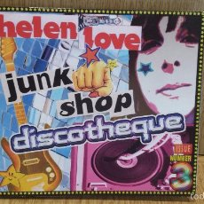 CDs de Música: HELEN LOVE. JUNK SHOP DISCOTHEQUE. DIGIPACK-CD / ELEFANT RECORDS / CALIDAD LUJO.. Lote 58414365