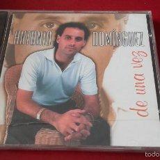 CDs de Música: CD NUEVO PRECINTADO ANTONIO DOMÍNGUEZ DE UNA VEZ. Lote 58414484