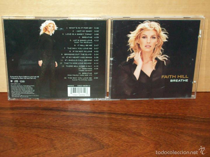 FAITH HILL - BREATHE - CD (Música - CD's Pop)