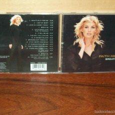 CDs de Música: FAITH HILL - BREATHE - CD . Lote 58421309